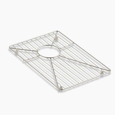 Vault /Strive Stainless Steel Sink Rack, 11-3/16 x 16-11/16 for 36 Offset Apron-Front Sink