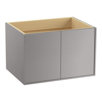 "Jute 30"" Vanity with 2 Doors Finish: Mohair Grey"