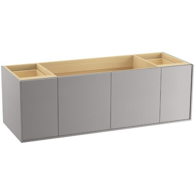 Jute� 60 Vanity with 2 Doors and 2 Drawers Finish: Mohair Grey