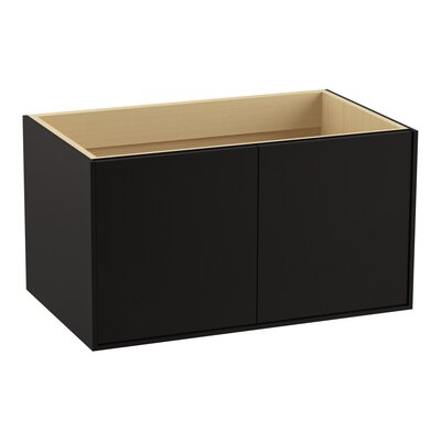 Jute� 36 Vanity with 2 Doors Finish: Batiste Black
