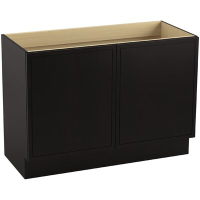 Jacquard� 30 Vanity with Toe Kick and 2 Doors Finish: Batiste Black