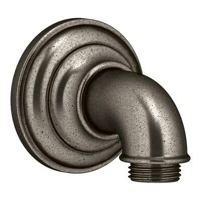 Artifacts Wall-Mount Supply Elbow Finish: Vintage Nickel K-72796-VNT