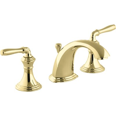 Devonshire Standard Bathroom Faucet Double Handle with Drain Assembly Finish: Vibrant Polished Brass