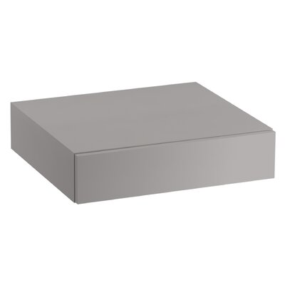 Jute Lap Drawer Finish: Mohair Grey