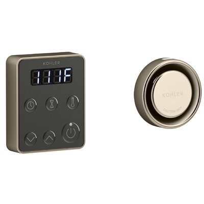 Invigoration� Series Steam Generator Control Kit Finish: Vibrant Brushed Bronze
