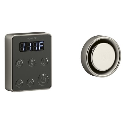 Invigoration� Series Steam Generator Control Kit Finish: Vibrant Brushed Nickel