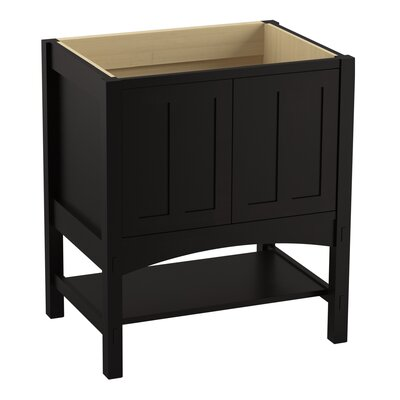Marabou� 30 Vanity with 2 Doors Finish: Batiste Black