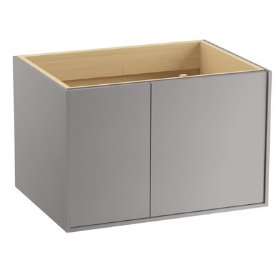 Jute 30 Vanity with 1 Door and 1 Drawer on Left Finish: Mohair Grey