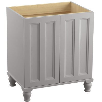 Damask� 30 Vanity with Furniture Legs and 2 Doors Finish: Mohair Grey