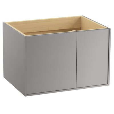 Jute� 30 Vanity with 1 Door and 1 Drawer on Right Base Finish: Mohair Gray