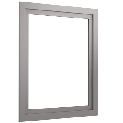 Poplin Medicine Cabinet Surround, 24 Wide Finish: Gray