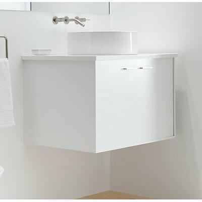 Jute 30 Vanity with 2 Doors Finish: Linen White