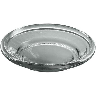 Spun Glass Temp Glass Circular Vessel Bathroom Sink Finish: Translucent Stone