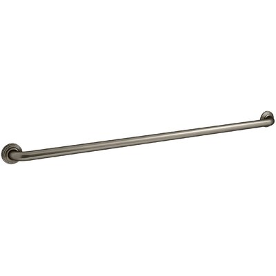 Traditional Ada Compliant Grab Bar Finish: Vintage Nickel
