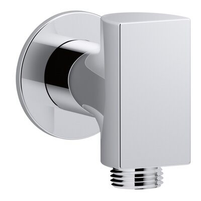 Exhale Wall-Mount Supply Elbow Finish: Polished Chrome