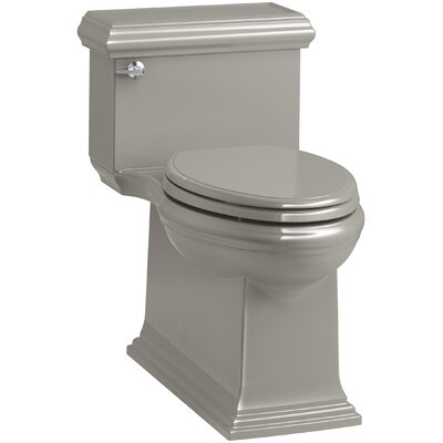 Memoirs Classic Comfort Height Skirted One-Piece Compact Elongated 1.28 gpf Toilet with AquaPiston Flush Technology and Left-Hand Trip Lever Finish: Cashmere