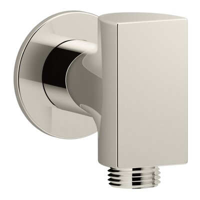 Exhale Wall-Mount Supply Elbow Finish: Vibrant Polished Nickel
