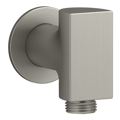 Exhale Wall-Mount Supply Elbow with Check Valve Finish: Vibrant Brushed Nickel