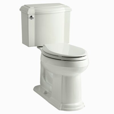Devonshire Comfort Height Two Piece Elongated Toilet Finish: Dune