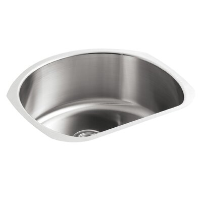 McAllister 23.63 x 21 Undermount Single Bowl Kitchen Sink