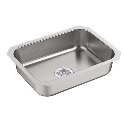 McAllister 24 x 18 Undermount Single Bowl Kitchen Sink