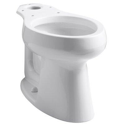 Highline 1.0 GPF Elongated Toilet Bowl Finish: White