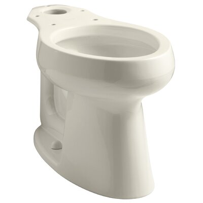 Highline 1.0 GPF Elongated Toilet Bowl Finish: Almond