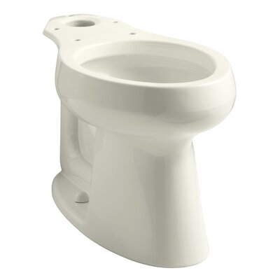 Highline 1.0 GPF Elongated Toilet Bowl Finish: Biscuit