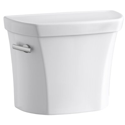 Wellworth 1.0 GPF Toilet Tank Lever Location: Left-Hand, Finish: Almond