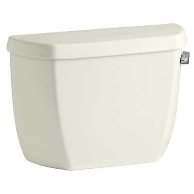 Wellworth 1.0 GPF Toilet Tank Finish: Biscuit, Lever Location: Right-Hand