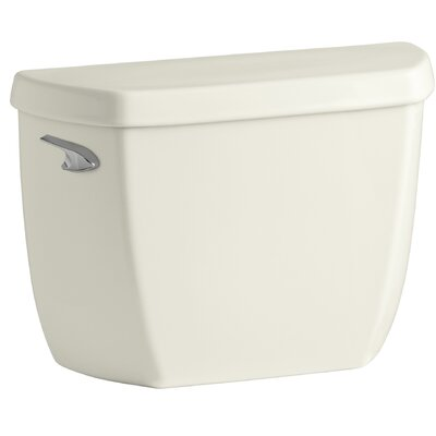 Wellworth 1.0 GPF Toilet Tank Lever Location: Left-Hand, Finish: Biscuit