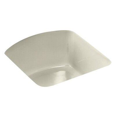 Napa 18.7 x 18.7 Under Mount Bar Sink Finish: Cane Sugar