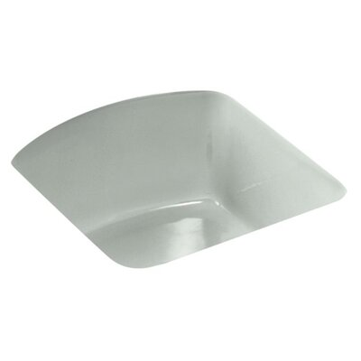 Napa 18.7 x 18.7 Under Mount Bar Sink Finish: Sea Salt