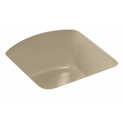 Napa 18.7 x 18.7 Under Mount Bar Sink Finish: Mexican Sand