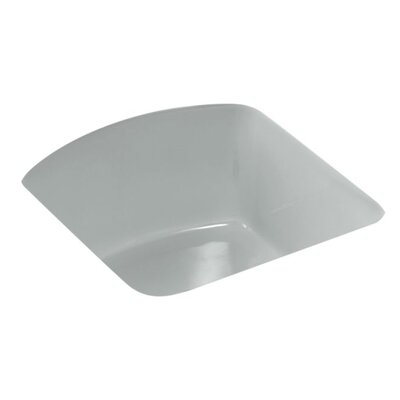 Napa 18.7 x 18.7 Under Mount Bar Sink Finish: Ice Gray