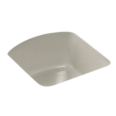 Napa 18.7 x 18.7 Under Mount Bar Sink Finish: Sandbar
