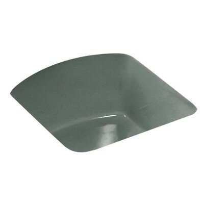 Napa 18.7 x 18.7 Under Mount Bar Sink Finish: Basalt