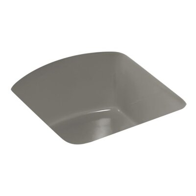 Napa 18.7 x 18.7 Under Mount Bar Sink Finish: Cashmere