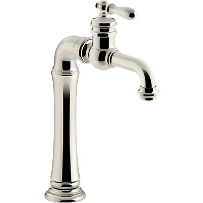 Artifacts Gentlemans Bar Sink Faucet Finish: Vibrant Polished Nickel