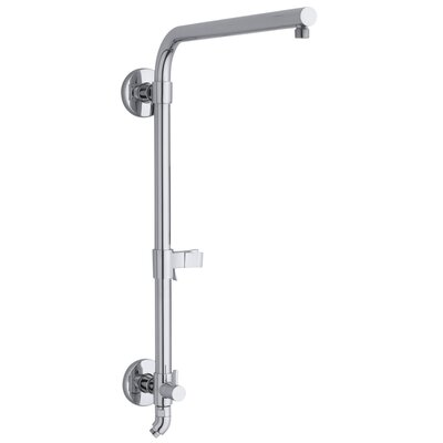 Hydrorail -R Beam Column Shower Panels Finish: Polished Chrome