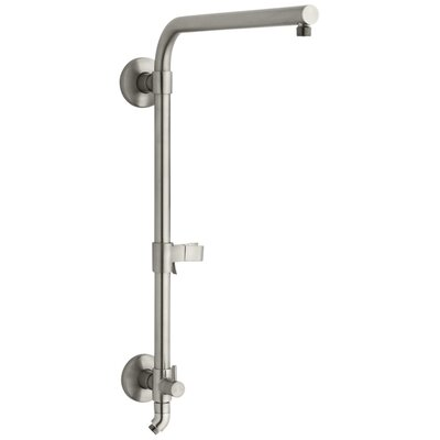 Hydrorail -R Beam Column Shower Panels Finish: Vibrant Brushed Nickel
