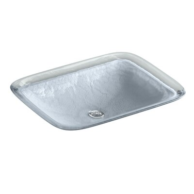 Inia? Wading Pool Rectangular Vessel Bathroom Sink Finish: Opaque Dusk