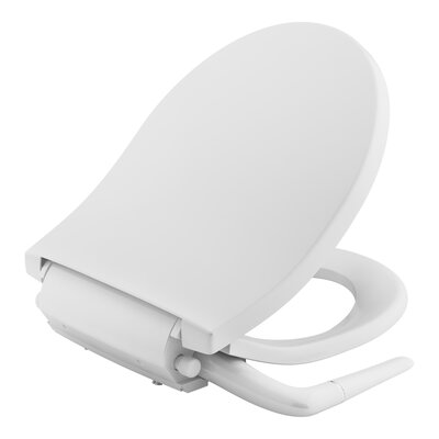 Puretide� Manual Cleansing Round Toilet Seat Bidet Finish: White