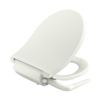 Puretide� Manual Cleansing Round Toilet Seat Bidet Finish: Biscuit