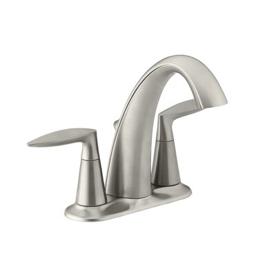 Alteo Centerset Bathroom Sink Faucet Finish: Vibrant Brushed Nickel