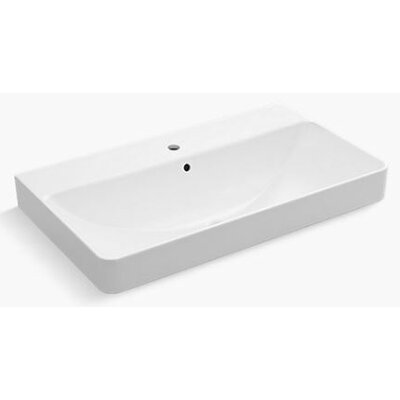 Vox� Rectangular Vessel Bathroom Sink with Overflow