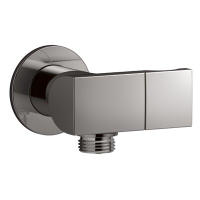 Exhale Wall Mount Supply Elbow with Check Valve and Bracket