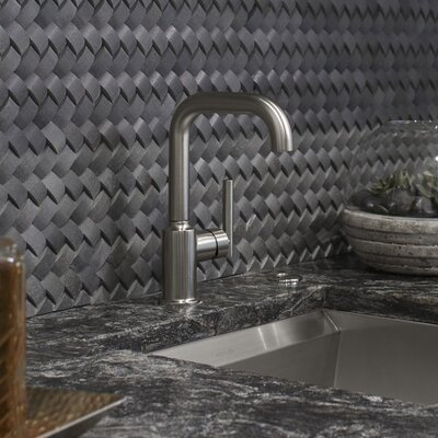 Purist Single-Hole Kitchen Sink Faucet with 6 Spout Finish: Vibrant Stainless
