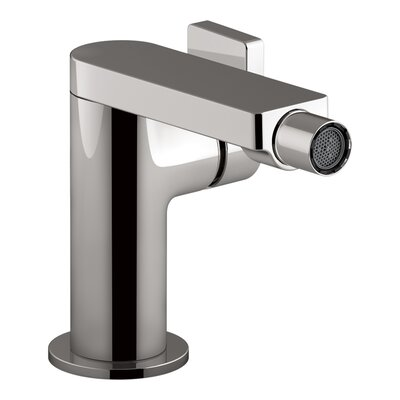 Composed� Single-Handle Bidet Faucet with Lever Handle Finish: Titanium
