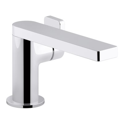Composed� Single-Handle Bathroom Faucet with Drain Assembly Finish: Polished Chrome